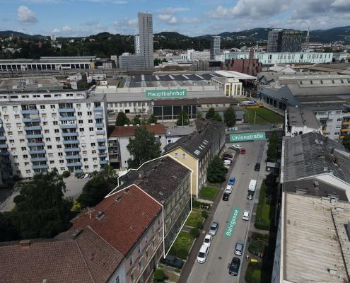 Luftbild_Bahrgasse 6_Straßenansicht